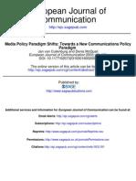VCulienborgMcQuail_Media Policy Paradigm Shifts