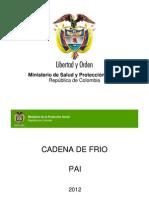 Capacitacion Cadena Frio 2012