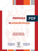 Protocolo de Violencia Familiar
