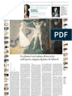 IL MUSEO DEL MONDO 30 - Sphinx Di Edvard Munch (1894) - La Repubblica 21.07.2013
