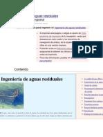 Ingeniería de aguas residuales