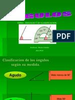 Clasificación de angulos  6TEXTO ESCOLAR
