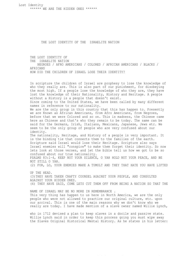 Senate house thesis