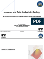 M 2008 Meyer Folleto Statistics and Data Analysis in Geology