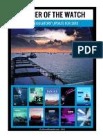 OOW - Maritime Regulatory Update for 2013