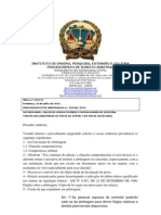 ARBITRAGEM NOTIFICAÇÃO Ofício nº.597731