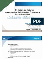 Modelo de Maduracion OPM3