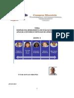 Diseñar herramienta para  evaluar entornos virutales de aprendizaje