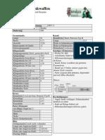 Daten Blatt Zef 11sword specimen 5
