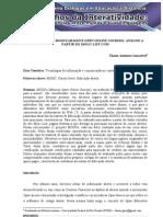 GONÇALVES, 2013. Tendências em MOOCS (Massive Open Online Courses) - análise a partir do MOOC-List