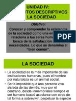 Elementos Descriptivos de La Sociedad