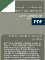 La revolución industrial en su primera y segunda