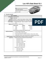 Loc-10Tx DataSheet VXMT Eng V2.2 20100629