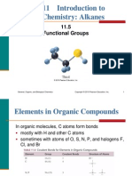 11.5 Functional Groups