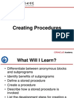S07L01 Creating Procedures