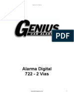 Alarma Genius Digital 722 2vias