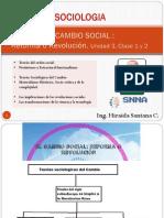UNIDAD 1 Clase 2 Cambios Sociales