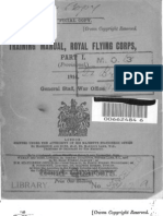 Training Manual Royal Flying Corps Part 1 - 1914