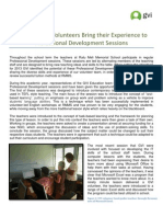 GVI Fiji Achievement Report- July 2013 -  Professional Development