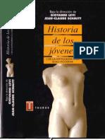Levi,1995 Historiade los jóvenes I