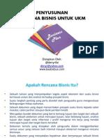 Materi Workshop - Penyusunan Rencana Bisnis