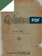 MENUJU QIAMAT-AMINISLAM