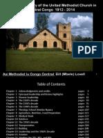 100th Anniversary of the Methodist Church in Central Congo 1912 - present