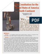 Constitution North America 3