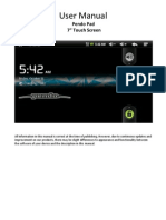 Manual for Pendo Pad