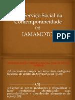 FUNDAMENTOS  O Serviço Social na Contemporaneidade