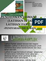 Latihanfartlek Litar 111219032017 Phpapp02