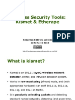 Wireless Security Tools - Kismet & Etherape