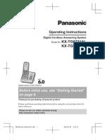 Panasonic KX-TG6721 User Manual