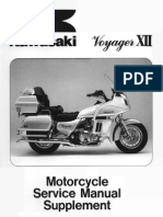 Kawasaki ZG1200 Voyager XII Service Manual Supplement