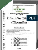 Prueba Contrato Docente 2013 San Martin EBA