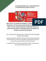 Venezuela y El Quinto Sistema Gerencial de H. Dubric Presente en La 18 Feria Internacional Del Libro. Lima.
