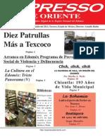 Expresso de Oriente 22 de Julio Del 2013