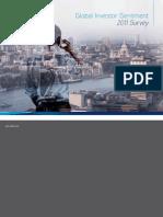 Global Investor Sentiment Survey 2011