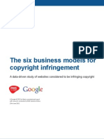 The Six Business Models of Copyright Infringement
