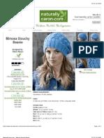 Mimosa-hat pattern