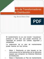 Mantenimiento de Transformadores de Distribución