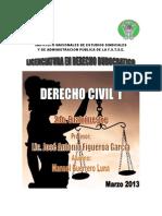 Derecho Civil I Autoevaluaciones 1 Ala 5