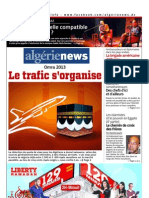 Algerie News Du 22.07.2013