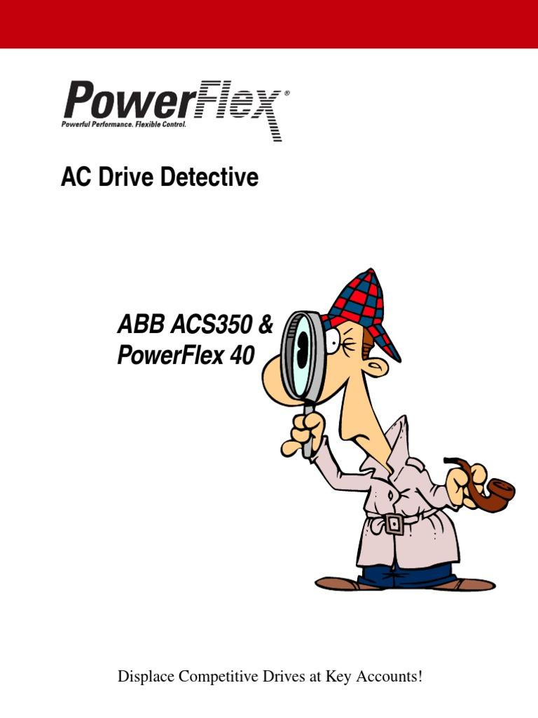 Acs350 Pf40 Drive Detective Mains Electricity Horsepower Powerflex 40 Ethernet Wiring Diagram