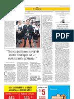Entrevista al chef Héctor Solís