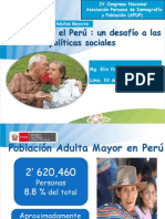 Situacion de La Poblacion Adulta Mayor