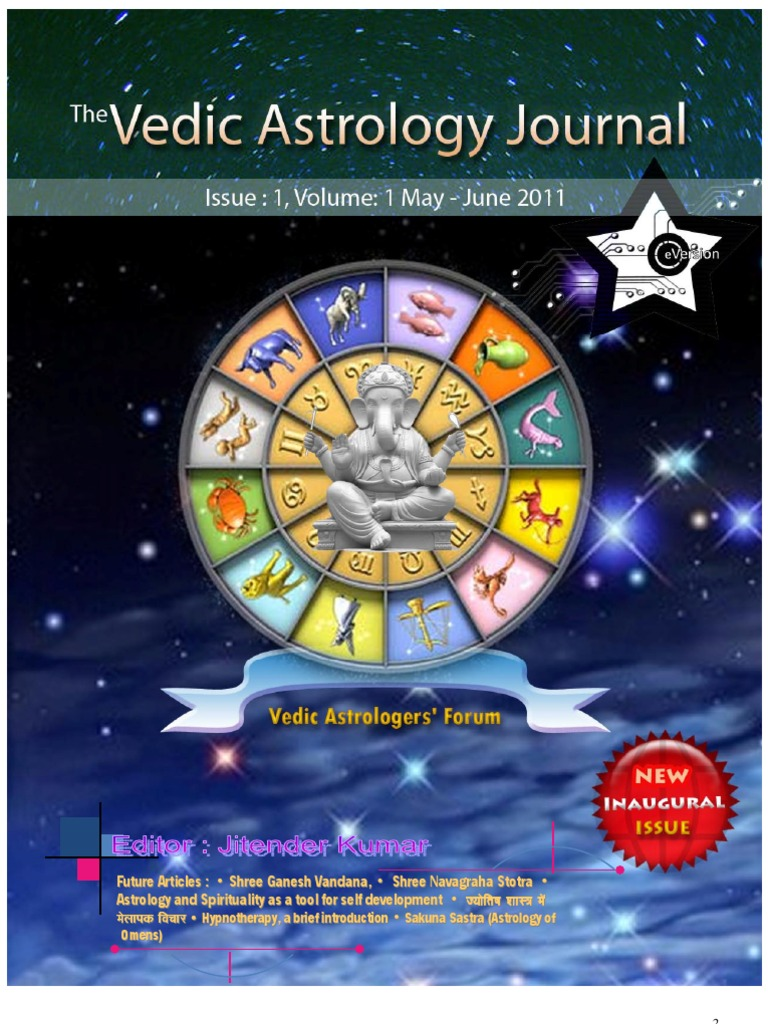 55950951-the-vedic-astrology-journal pdf | Astrological Sign