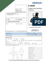 FDM_2013_C_2000 - Fiche de Mesures