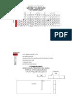 kalendar kerja PPDB 1314