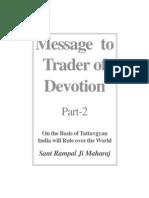 Message to Trader of Devotion (English) - Part 2 of 2 (JagatGuruRampalji.org)